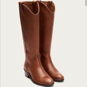 Frye Women's Carson Pull On Western Boots, Sz 6.5